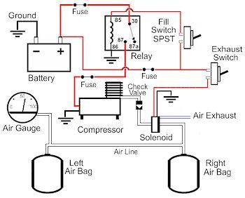 Air    Suspension       Diagram        Wiring       Diagram